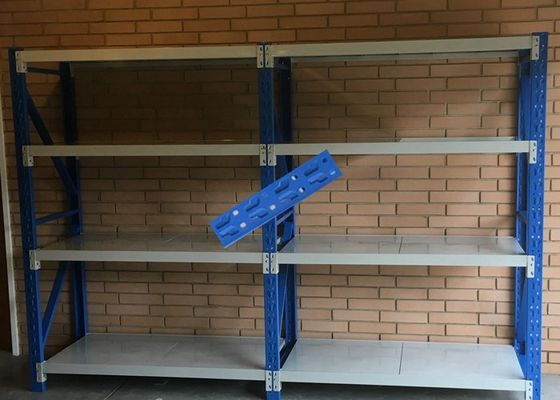 Cina Pallet Steel Storage Rak / Light Duty Double Deep Pallet Racking pabrik