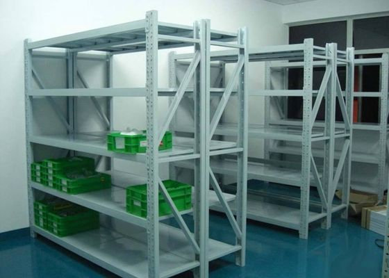 Cina L2000 * W450 Steel Storage Shelves / Adjustable Metal Shelves Anti Karat pabrik