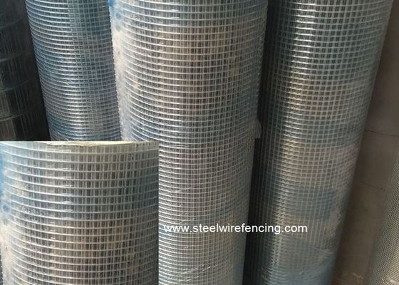 Kandang Keamanan Hewan Welded Wire Mesh Rolls / Heavy Duty Wire Mesh Panels