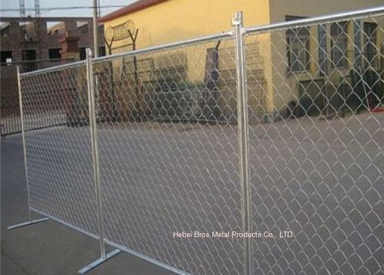 Perpipaan Temporary Construction Fence Chain Link For Construction Protection