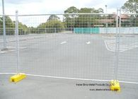 Australia Standar Temporary Construction Fence Galvanized Welded Wire Mesh Untuk Festival