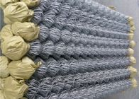 Hot Dipped Galvanized Steel Wire Anggar, Residential Metal Chain Link Fence